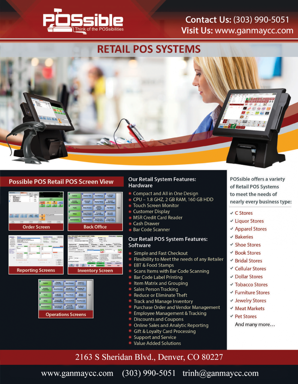 POSsible Retail POS System